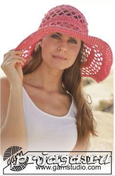 шляпы вязаные крючком