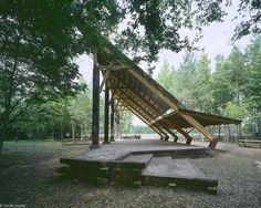 Akron Pavilion // Akron, AL // 1997 Thesis Project