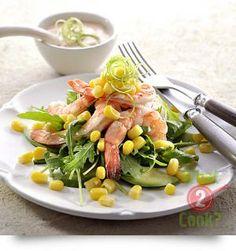 Prawn and Avocado Salad