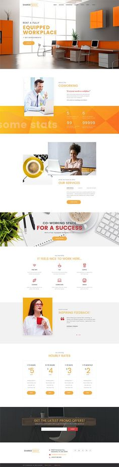 Coworking Workplace #Wordpress #template. #themes #business #responsive #Wordpressthemes