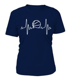 T shirt  Basketball Heartbeat Shirt  fashion trend 2018 #tshirt, #tshirtfashion, #fashion