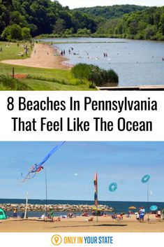 You do not need to drive all the way to the coast to feel like you are at the ocean. This summer is the perfect time to find your favorite beach for a getaway. Add these 8 stunning Pennsylvania beaches to your bucket list if you miss the ocean!