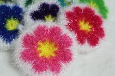 꽃 만쥬 수세미(콩깍지님 유료도안)- 코바늘 수세미 뜨기 - 시간날때 하나, 두개씩 뜬 콩깍지님의 <꽃 ...