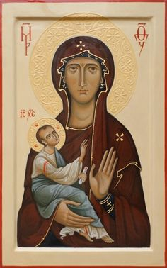 Holy Mary with Child. 2010