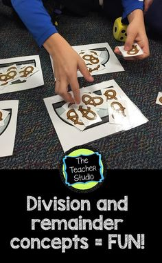 Understanding the connection between multiplication and division is not easy--but it CAN be fun! Check out some of the activities we did to deepen our understanding of division and remainders!