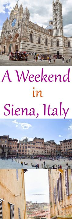 Stay overnight in Siena, Italy. Halfway between Rome and Florence, this ancient hill town is a beautiful city. Full of tourists during the day, the small town quiets down at night for a serene getaway. Stay at the perfect Bed & Breakfast and enjoy delicious food with gorgeous views down every alley.