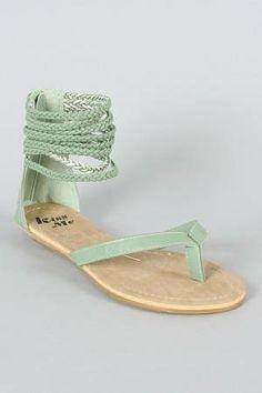 #Mint sandals!