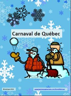 FRENCH - Revised to accommodate the 2020 Carnaval de Québec website! Use this one page internet activity to help your students explore the many activities and highlights of the world's largest winter carnival - le Carnaval de Québec! French Teaching Resources, Teaching French, Teacher Resources, Learning Resources, Teaching Ideas, Winter Activities, Classroom Activities, Classroom Ideas, French Club Ideas