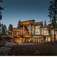 Custom Log Home Design Murray Arnott Design Cherrydale