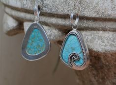 Turquoise Pendant in Solid 925 Sterling Silver - donbiujewelry  - 3