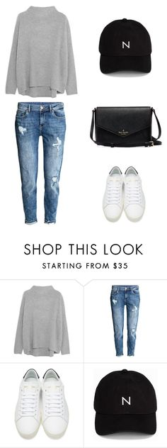 """""""#39"""" by babymonsterxz ❤ liked on Polyvore featuring Vince, Yves Saint Laurent and New Black"""