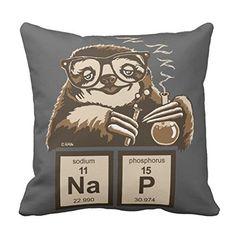 "Zazzle Chemistry Sloth Discovered Nap Throw Pillow 16"" x ... https://www.amazon.com/dp/B07719Y498/ref=cm_sw_r_pi_dp_U_x_3.XxAb65FE81E"