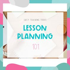 Lesson planning is one of the most time consuming tasks as a teacher. Teaching engaging lessons is so much fun, but creating lessons can be time consuming. Check out these tips to make lesson planning easier. Easy Math, Simple Math, Back To School Activities, Math Activities, Teaching Tools, Student Learning, Back To School Art, Teacher Workshops, Lesson Planner