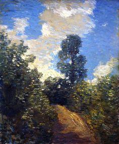 The Athenaeum - Back Road (Julian Alden Weir - )