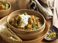 This slow-cooked curry is divine served with a dollop of yoghurt and warm chapatis.