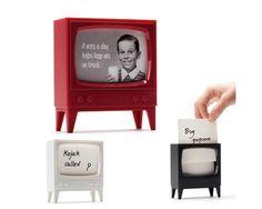 Telly : Porta recados retrô com formato de tv antiga
