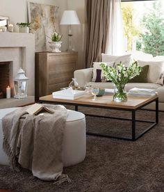 Muebles que te ayudan en el salón · ElMueble.com · Salones - #decoracion #homedecor #muebles