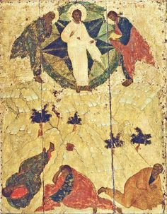 Andrei Rublyov's Transfiguration of Our Lord Christ,15th century