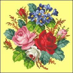 Patterns 5 - Victorian Cross Stitch and Berlin Wool Work Patterns