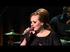 Full concert, Adele, Live London 2011, the album has been taken off of yt for obvious reasons. This is great!