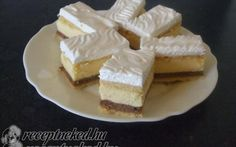 Rózsi szelet recept fotóval Cheesecake, Pie, Food, Cakes, Drink, Dessert Ideas, Cooking, Food Food, Recipies