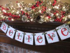 Hey, I found this really awesome Etsy listing at http://www.etsy.com/listing/116516216/merry-christmas-banner-believe-garland