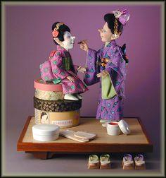 Geisha House Elves - Jodi & Richard Creager.