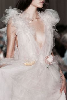 Backstage at Marchesa Spring 2015