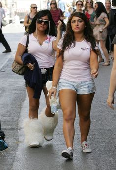 Yes, I am addicted to Jersey Shore,   Yes, I did research Snooki's fur boots after I saw them, and yes I did buy a pair :-D