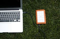 lacie rugged hard drive with macbook air
