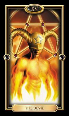 XV. The Devil: The Gilded Tarot