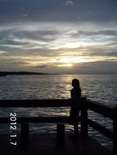 Sunset at Tagbilaran, Bohol, Philippines