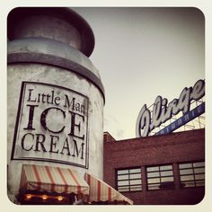 Classic LoHi Denver scene. Little Man Ice Cream is delish... as is lunch on the rooftop of Linger!