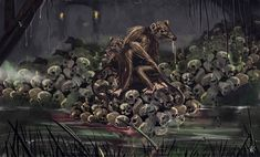 Https Www Deviantart Com Kxg Witcher Art The Rats In The Wall Hp