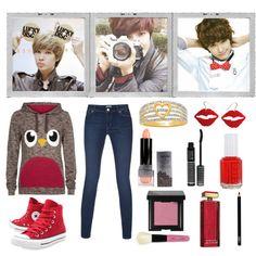 I don't no #39 - Jeongmin by chuyunhee on Polyvore featuring moda, Paul Smith, Converse, My Secret Agent Lover Man, Bobbi Brown Cosmetics, NYX, LORAC, NARS Cosmetics, Elizabeth Arden and Essie