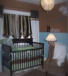 animal theme Cheetah Nursery, Nursery Twins, Nurseries, Photo Library, Cribs, Animal, Brown, Bed, Furniture