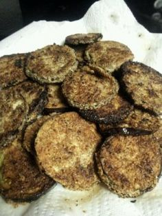 Fried Eggplant | fastPaleo Primal and Paleo Diet Recipes