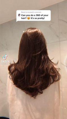 Haircuts Straight Hair, Layered Haircuts, Long Hair Cuts, Hair Tips Video, Hair Videos, Hair Cutting Videos, Medium Hair Styles, Curly Hair Styles, Long Layered Hair