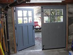 A Garage Turned Into A Perfect Industrial Home For A Young Couple. Carriage  HouseGarage DoorsSeattleCarriage Doors