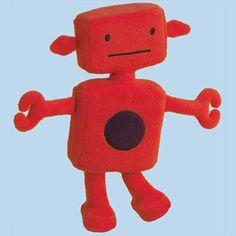 Grote Robot knuffel - Trousselier