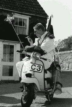 Paul Weller/The Style Council Mod Scooter, Lambretta Scooter, The Style Council, Paul Weller, Jr Art, Rude Boy, Rocker Style, Skinhead, Mod Fashion