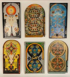 20's - 40's Pinball Games from Lost Found Art