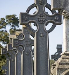 Celtic Cross in Glasnevin Cemetery. Glasnevin Cemetery, officially known as Prospect Cemetery, is the largest non-denominational cemetery in Ireland