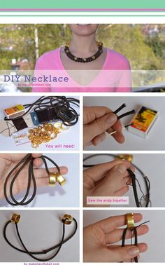 15 Have To See DIY Necklace Tutorials   Pinkous