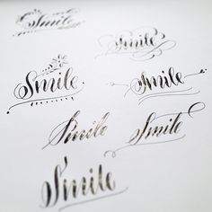 Calligraphy Videos   by I Still Love You by Melissa