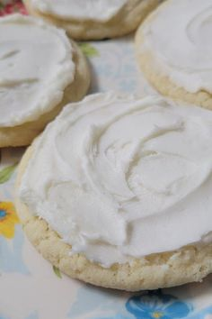 These buttercream-frosted lemon sugar cookies are an easy dessert recipe! Bake this homemade cookie dough and frosting recipe using just a few ingredients, such as lemon, sugar, and butter. Your family and friends will love this delicious cookie recipe!