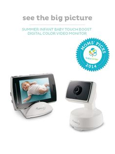 Pan, scan & zoom with the Summer Infant digital monitor, a BabyCenter Top Pick.