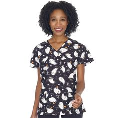Scrubin Is Your Destination For the Lowest Prices On Nursing Scrubs, Medical Uniforms, Medical Supplies & More. Shop At Scrubin and Save On Scrubs Today! Halloween Scrubs, Halloween Ii, Halloween Prints, Medical Uniforms, Medical Scrubs, Scrub Tops, Fashion Brands, Topshop, Men Casual