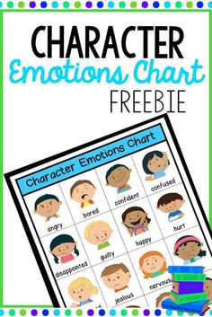 These Character Emotions Charts can be used when reading to understand how a character is feeling or during writing to add emotions to stories. You may want to put a copy in students' reading response journals and/or their writing journals. Teaching Reading Strategies, Comprehension Strategies, Reading Fluency, Reading Intervention, Teaching Writing, Guided Reading, Reading Resources, Teaching Ideas, Reading Response Journals