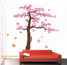 These Decals Are Going Up In Our Nurserys Reading Corner I Love - How to put up a tree wall decal